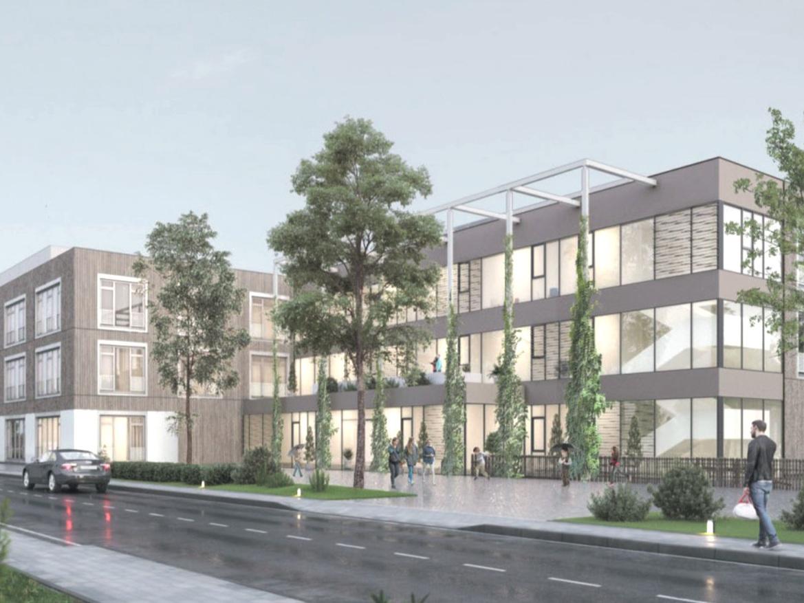 """Abriss und schlüsselfertiger Neubau einer Förderschule (Schwerpunkt """"Geistige Entwicklung"""") in Berlin-Pankow (Abbildung: NN)"""