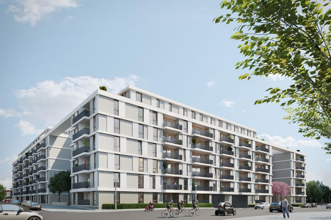 Wohnungsbauprojekt Pandion, Conrad-Blenkle-Straße (Berlin-Prenzlauer Berg)